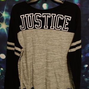 Justice long-sleeve shirt size 24 plus